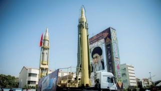 إيران تعترف بإجراء تجربة صاروخية