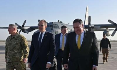 بومبيو في زيارة مفاجئة لبغداد مع تصاعد التهديدات للقوات الأميركية