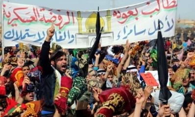 احتقان في سامراء يهدد المدينة بمصير الموصل