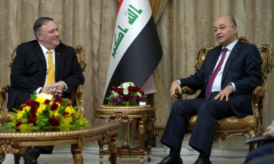 بومبيو يرقّع في العراق استراتيجية الانسحاب من سوريا