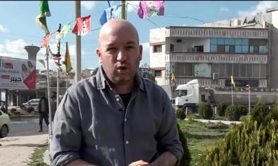 مراسل قناة إسرائيلية يتجول في أراضي النظام السوري