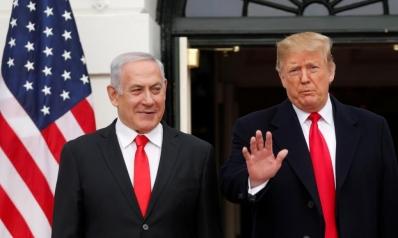 """ترامب يوقع اعتراف أميركا """"بسيادة"""" إسرائيل على الجولان"""