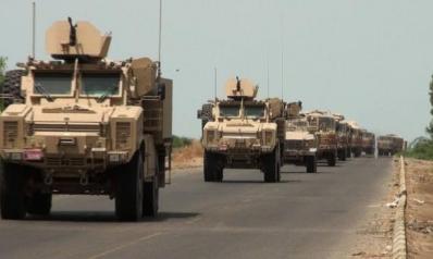 الأرتال العسكرية تعرقل طريق المسافرين بين بغداد وعمان