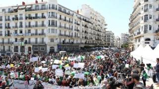 الجزائريون يتظاهرون للجمعة التاسعة للمطالبة برحيل النظام
