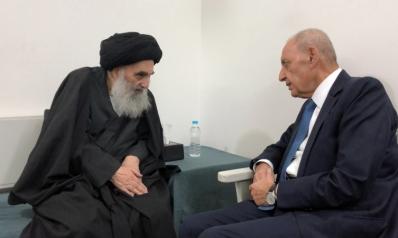 نبيه بري يستظل بالسيستاني لحماية حركة أمل من العقوبات على حزب الله