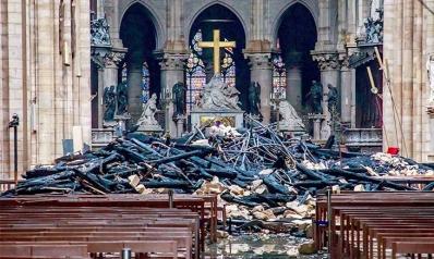 حريق نوتردام وصروح الإنسانية العابرة للأديان
