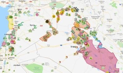 مشروع إعداد خارطة بمواقع انتشار الميليشيات الشيعية