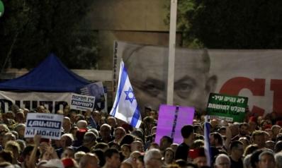 احتجاجات واسعة ضد تحصين نتنياهو من المحاكمة بتهم الفساد
