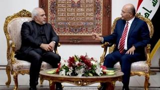 تحركات دبلوماسية واسعة.. ظريف في بغداد لبحث التصعيد الأميركي