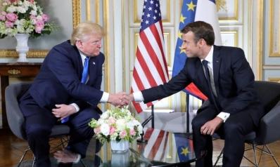 ترامب وماكرون يأملان باستئناف المفاوضات مع إيران