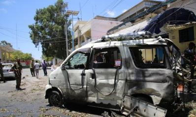 قتلى في هجومين بسيارات مفخخة وسط مقديشو