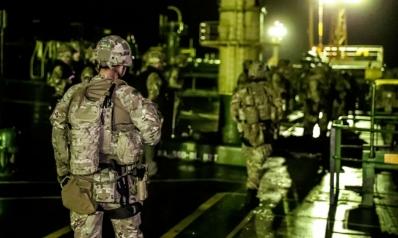 حزم بريطاني مع استفزازات إيران في مضيق هرمز