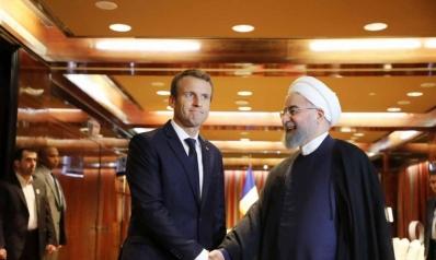 ماكرون يدعو روحاني إلى خفض التوتر الأميركي ـ الإيراني