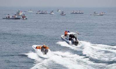الحرس الثوري الإيراني يعلن احتجاز ناقلة نفط بريطانية بمضيق هرمز