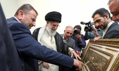 حماس في الخطوط الأمامية دفاعا عن إيران