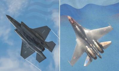 المقاتلة الشبح والفارس المدرع.. مقارنة بين أف 35 الأميركية وسوخوي 35 الروسية
