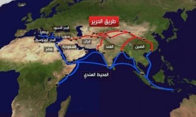 """التوترات في الخليج العربي.. بذور """"أشواك"""" على طريق الحرير الصيني"""