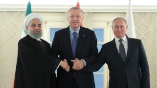 بوتين وأردوغان وروحاني يأملون في أن تسفر محادثاتهم في أنقرة عن حل نهائي للأزمة السورية