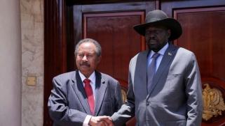 حمدوك من جوبا: نطمح إلى علاقات راسخة مع جنوب السودان