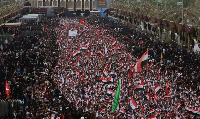 كربلاء تهتز على وقع هتافات آلاف العراقيين ضد الفساد