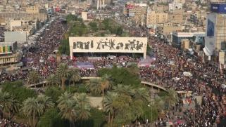 مظاهرات العراق تتصاعد وقادة الكتل يهرعون إلى الرئيس بحثا عن مخرج