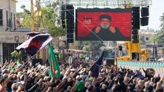 نصرالله يتحدى الشارع اللبناني برفض استقالة الحكومة