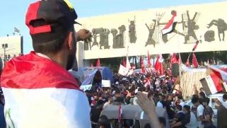 العراق.. قذيفة هاون على المنطقة الخضراء واحتجاجات متواصلة