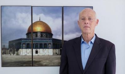 قضية فلسطين الحاضر الأبرز في خطاب قيس سعيد