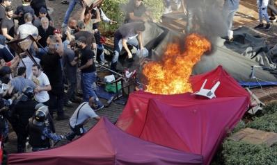 حزب الله يطلق يد ميليشياته ضد المتظاهرين