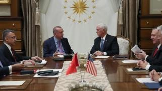 """اتفاق تركي أميركي بتعليق عملية """"نبع السلام"""" وانسحاب الأكراد"""