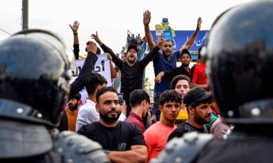 استياء عراقي من مواجهة التظاهرات بعنف حكومي مفرط