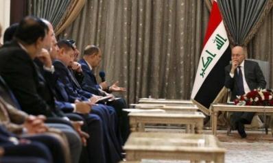 مع استمرار المظاهرات لليوم العاشر.. الرئيس العراقي يؤكد قرب الإعلان عن قانون للانتخابات