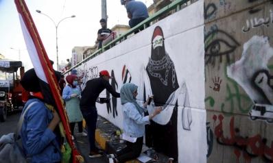 العراقيات يصححن مسار الانتفاضة