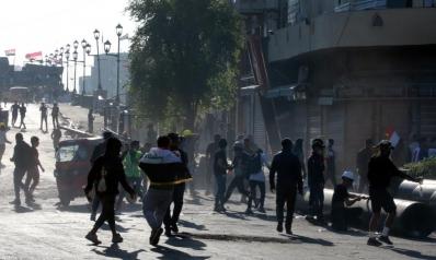 احتجاجات العراق.. مقتل متظاهرين قرب البنك المركزي والسيستاني يطالب بتعجيل الإصلاحات