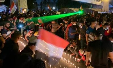 مظاهرات العراق.. قتيل وعشرات الجرحى في بغداد وإغلاق ميناء أم قصر بالبصرة