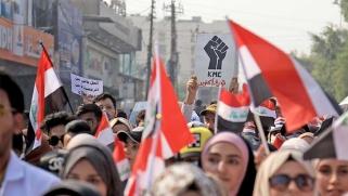 المرأة العراقية: «نازلة آخذ حقي»