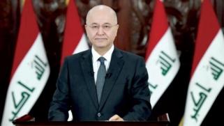 الرئيس العراقي يتعهد إجراء انتخابات مبكرة بقانون جديد… وتنحي عبد المهدي بشروط