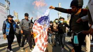 """السفارة الأميركية بالعراق تهدد إيران وتحذر من دعمها """"لأطراف ثالثة"""""""