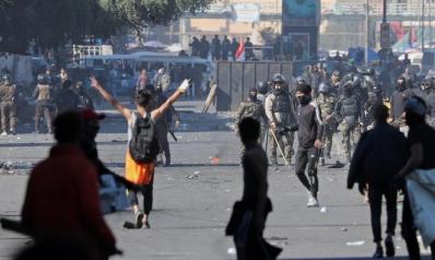 بعد انسحاب أنصار الصدر وتطويق الساحات.. المتظاهرون مصرون على الاعتصام
