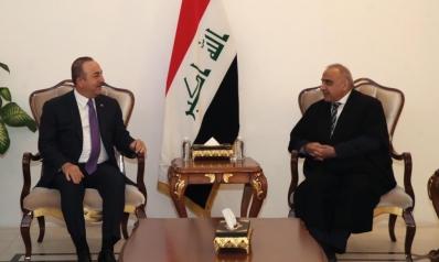 وزير الخارجية التركي يلتقي قادة العراق.. والمساعي مستمرة لاحتواء التوتر بالمنطقة