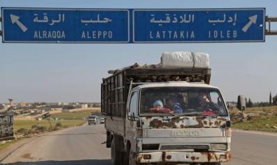 النظام السوري على أطراف معرة النعمان