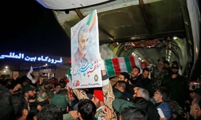 جثمان سليماني يصل طهران وسط تصريحات برد قاس