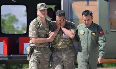 تركيا تستقبل أول ثلاثة جنود قتلى في ليبيا