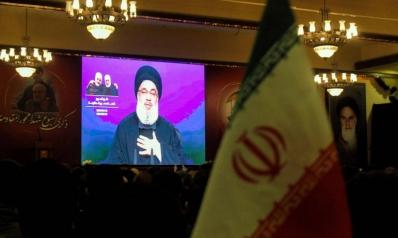 حسن نصرالله يظهر الإفلاس السياسي بخطاب عن القوة الإيرانية