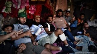 مستقبل العراق في نقاشات المتظاهرين الليلية