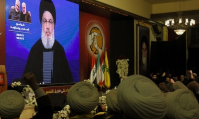 كلفت إيران نصر الله بتوحيد الوكلاء العراقيين بعد وفاة سليماني
