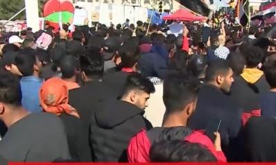 العراق.. تهديد بتصعيد الاحتجاجات والسيستاني يدين العنف ضد المحتجين