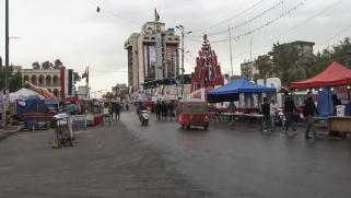 الهدوء يخيم على النجف وبغداد والصدريون يطمئنون المعتصمين