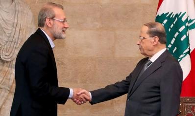 ترحيب رئاسي واستغراب شعبي من عرض لاريجاني مساعدة لبنان