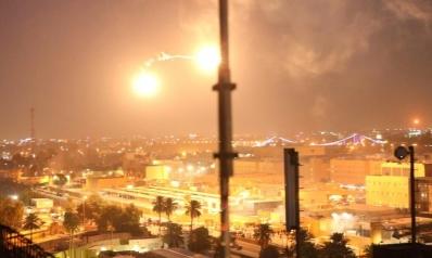 صواريخ تضرب قاعدة عسكرية أميركية في المنطقة الخضراء ببغداد